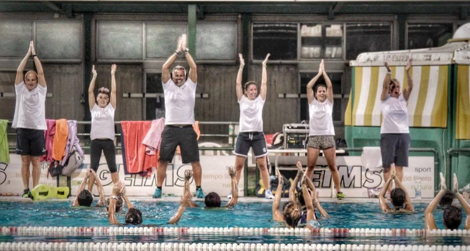 Master Class di ginnastica in acqua